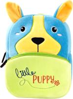 Детский рюкзак Sun Eight Собачка / SE-sp007-06 (голубой/зеленый) -