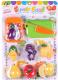 Набор игрушечных продуктов Darvish Фрукты , овощи / DV-T-1051 -