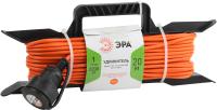Удлинитель на рамке ЭРА UFx-1-2x1.0-20m-IP44 / Б0043040 -