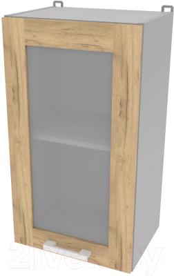 Шкаф навесной для кухни Интерлиния Компо ВШ40ст-720-1дв