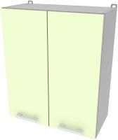Шкаф навесной для кухни Интерлиния Компо ВШ60-720-2дв (салатовый) -