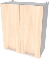 Шкаф навесной для кухни Интерлиния Компо ВШ60-720-2дв (дуб молочный) -