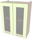 Шкаф навесной для кухни Интерлиния Компо ВШ60ст-720-2дв (салатовый) -