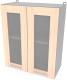 Шкаф навесной для кухни Интерлиния Компо ВШ60ст-720-2дв (дуб молочный) -