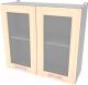 Шкаф навесной для кухни Интерлиния Компо ВШ80ст-720-2дв (дуб молочный) -