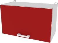 Шкаф под вытяжку Интерлиния Компо ВШГ 60-360 (красный) -