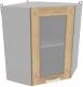 Шкаф навесной для кухни Интерлиния Компо ВШУст-720 (дуб золотой) -