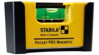Уровень строительный Stabila Pocket Pro Magnetic / 17953 -