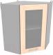 Шкаф навесной для кухни Интерлиния Компо ВШУст-720 (дуб молочный) -