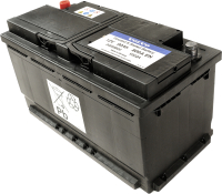 Автомобильный аккумулятор Volvo 30659800 (90 А/ч) -