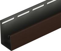 Фасадный профиль Docke J 30x3050 (шоколадный) -