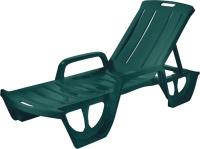 Шезлонг Keter Florida / 218112 (зеленый) -