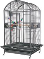 Клетка для птиц MONTANA Castell Dome / K33035 (темно-серый) -