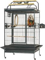 Клетка для птиц MONTANA Castell Play / K33036 (темно-серый) -