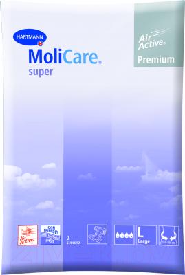 MoliCare Premium Super Soft (L, 2шт) Подгузники для взрослых купить в Минске, Гомеле, Витебске, Могилеве, Бресте, Гродно