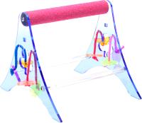 Подставка для клетки Happy Bird С минеральной жердью и игрушками / Z72128 -