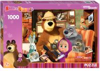 Пазл Step Puzzle Маша и Медведь / 79605 (1000эл) -