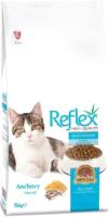 Корм для кошек REFLEX с анчоусом (15кг) -