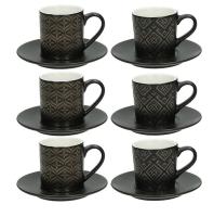 Набор для чая/кофе Tognana Relief/Gold / RE18501M007 -