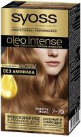 Крем-краска для волос Syoss Oleo Intense стойкая 7-70 золотое манго -