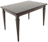 Обеденный стол Аврора Греция 1200 220x80x77 (орех тёмный) -