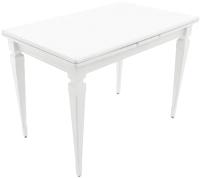 Обеденный стол Аврора Греция 1200 220x80x77 (эмаль белая) -