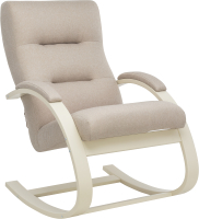 Кресло-качалка Импэкс Leset Милано (слоновая кость/малмо 05/бежевый) -
