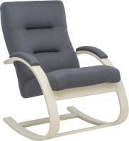 Кресло-качалка Импэкс Leset Милано (слоновая кость/малмо 95/серый) -
