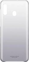 Чехол-накладка Samsung Gradation Cover для Galaxy A20 / EF-AA205CBEGRU (черный) -