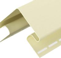 Угол для сайдинга Docke Dacha (3м, желтый) -