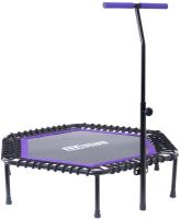 Батут BaseFit TR-401 (112см, фиолетовый) -