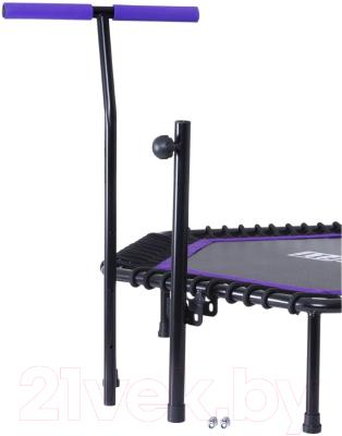 Батут BaseFit TR-401 (112см, фиолетовый)