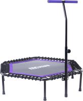 Батут BaseFit TR-401 (122см, фиолетовый) -
