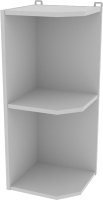 Угловое окончание для кухни Интерлиния Компо ВПз30-720 (серый) -