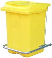 Контейнер для мусора Plastik Gogic 60л (желтый) -