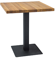 Обеденный стол Signal Puro / PuroDC60 (дуб/черный) -