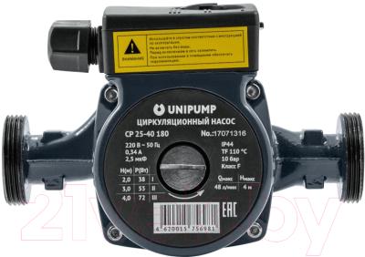 Циркуляционный насос Unipump CP 25-40 130 насос unipump cp 25 60 180