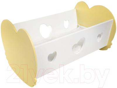 Аксессуар для куклы Paremo Кроватка-люлька Мини / PFD120-35M