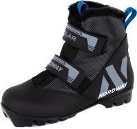 Ботинки для беговых лыж Nordway DXB001MX33 / A20ENDXB001-MX (р.33, мультицвет) -