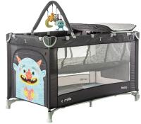 Кровать-манеж Carrello Molto CRL-11604 (Magnet Grey) -