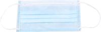 Маска защитная одноразовая Gesper Голубая трехслойная (100шт) -