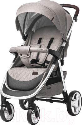 Детская прогулочная коляска Baby Tilly Ultimo T-191 (Peach Beige)