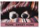 Коврик грязезащитный VORTEX Samba Собаки под пледом 60x90 / 24222 -