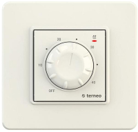 Терморегулятор для теплого пола Terneo Rtp (слоновая кость) -