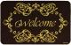 Коврик грязезащитный VORTEX Welcome 50x80 / 24257 -