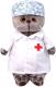 Мягкая игрушка Budi Basa Басик-доктор / Ks25-161 -