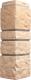 Угол для фасадной панели Docke Burg (пшеничный) -
