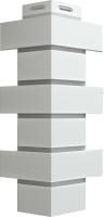 Угол для фасадной панели Docke Flemish (белый) -