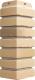 Угол для фасадной панели Docke Klinker (каракумы) -