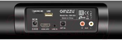 Звуковая панель (саундбар) Ginzzu GM-502